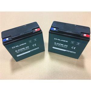 Batterie de rechange pour ProBarrow, 20Ah