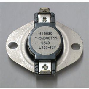 LS250-40F High Limit (IDH 400 QR OIL LP / NG)