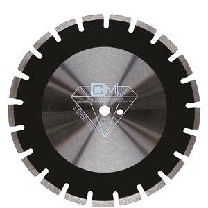 """Lame Diamantée 14"""" x 20mm / 1"""" pour Asphalte - qualité Standar"""