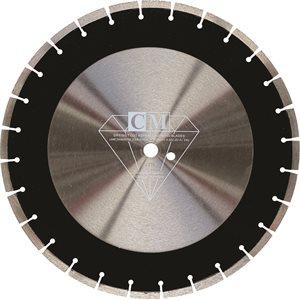 """Lame Diamantée 16"""" x 1"""" pour Asphalte - qualité Standard"""