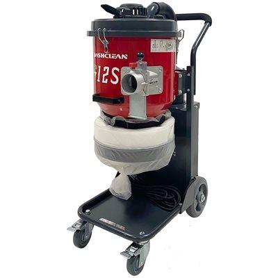 178 CFM / 140'' Vacuum with drop-Down fold bag, 110V / 13.8A