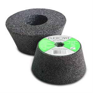 """5"""" Cup Stone (2"""" high), 5 / 8-11, for concrete"""