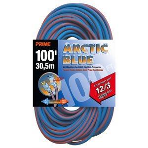 100ft, 12 / 3 SJEOW ARCTIC w / Primlok
