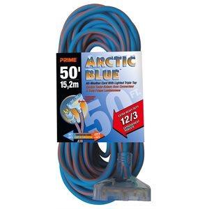 50ft, 12 / 3 SJEOW ARCTIC Triple-Tap