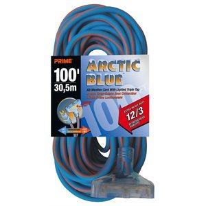 100ft, 12 / 3 SJEOW ARCTIC Triple-Tap