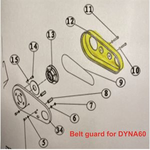 Belt guard (PLASTIC)