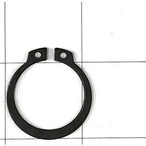 Shield ring for shaft