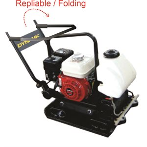 """82 kg, 18""""x23"""" foldable plate compactor with Honda"""