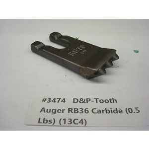 Carbide Pyramid Tipped teeth RB36